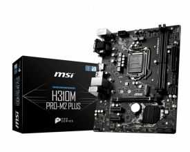 MB MSI H310M Pro-M2 + /1151 8th comp / m.2 / HDMI / mATX